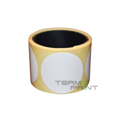 Термоэтикетка ТОП 50х50 мм круглая (1000 шт.)