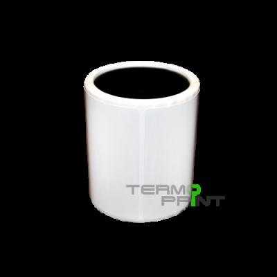 Полимерная этикетка (полипропилен) 58х30 мм прямоугольная (1000 шт.)