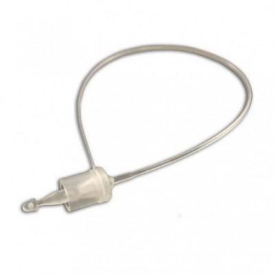 Ярлыкодержатель пластиковый 130 мм (5000 шт) белый