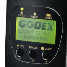Принтер этикетки GoDex EZ6200 Plus (USB, RS232, Ethernet, Гнездо для карт CF)