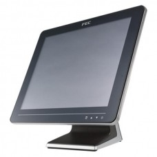 "POS-монитор 15"" FEC АМ-1015В (USB, VGA, DVI, Audio), touch pad"